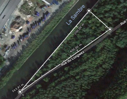 Zone portuaire de Mornimont - Lot Triangle
